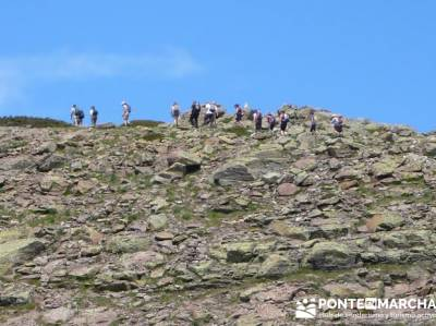 Ruta senderismo Peñalara - Parque Natural de Peñalara; programa de actividades senderismo